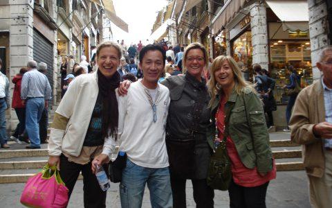 On The Rialto Bridge, Venice
