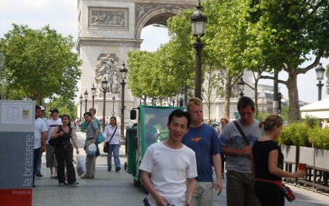 The Arc de Triomphe, Paris, 2006